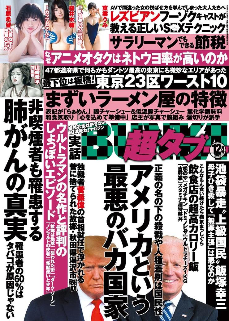 実話BUNKA超タブー12月号に姫乃たまさんとの対談記事掲載